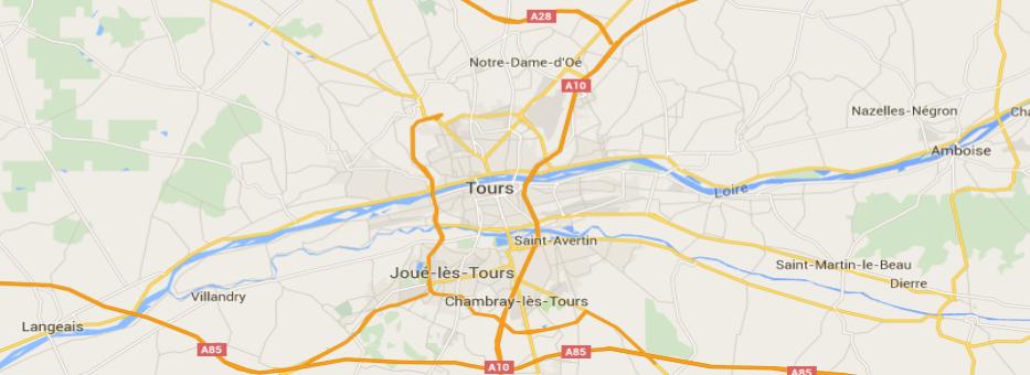 plan - transport Touraine - Tours - Amboise